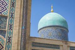 Madrasah de Barak Khan A imã Square Hazrati Imam de Hast é um religi imagem de stock