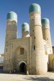 Madrasah de menor importancia de Chor en Bukhara Fotos de archivo