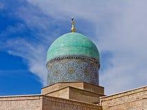 Madrasah dome. Madrasah Burokhon dome on sky Royalty Free Stock Photos