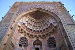 Madrasah i Bukhara, Uzbekistan. Royaltyfria Bilder
