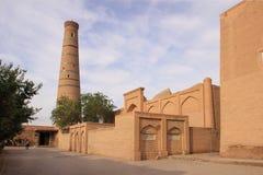 The madrasah in Ichan Kala in Khiva city, Uzbekistan Royalty Free Stock Images