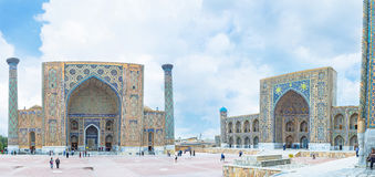 Madrasahs Samarkand Obraz Stock