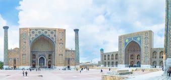 Madrasahs van Samarkand Stock Afbeelding