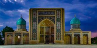 Madrassa在塔什干,乌兹别克斯坦 免版税库存图片