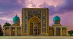 Madrassa在塔什干,乌兹别克斯坦 库存图片