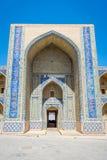 Madrassa在布哈拉,乌兹别克斯坦 免版税库存图片