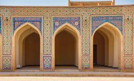 Madrassa在布哈拉,乌兹别克斯坦 免版税库存照片