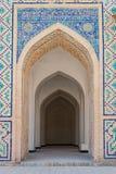 Madrassa在布哈拉,乌兹别克斯坦 图库摄影
