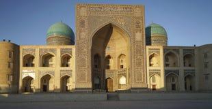 Madrassa in Bukhara Usbekistan Stockfoto