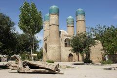 Madrassa Chor Minor, Bukhara, Uzbekistan Stock Photography