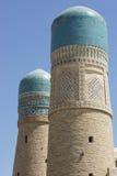 Madrassa Chor Untersatz, Bukhara, Uzbekistan Lizenzfreies Stockfoto