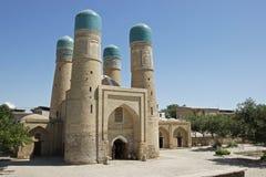 Madrassa Chor Untersatz, Bukhara, Uzbekistan stockfotos