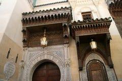 Madrassa em Fez Fotos de Stock