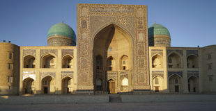 Madrassa en Bukhara Uzbekistán Foto de archivo