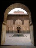 Madrassa en Marrakesh Fotos de archivo