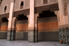 Madrassa in Marrakech Royalty Free Stock Images