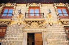 Madrassa slott, Granada, Spanien Arkivbilder