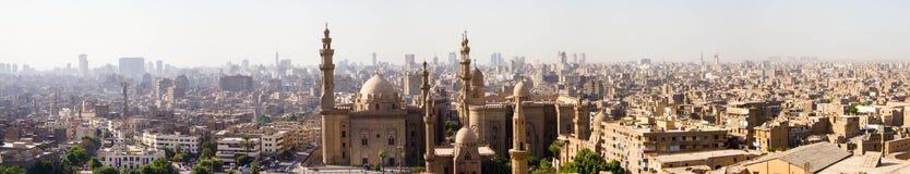 Madrassa van Sultan Hassan stock fotografie