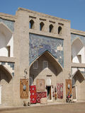 Madrassah da entrada em Khiva Imagens de Stock