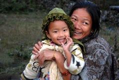 Madre & bambino Immagini Stock