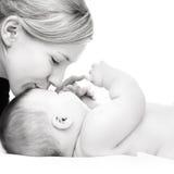 Madre con el bebé Fotos de archivo libres de regalías
