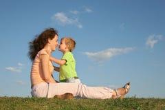Madre con el hijo Fotografía de archivo libre de regalías
