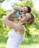 Madre con el hijo Foto de archivo
