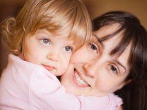Madre con el niño Imagen de archivo