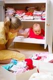 Madre con el niño Fotos de archivo libres de regalías
