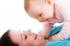 Madre con il bambino Fotografia Stock Libera da Diritti