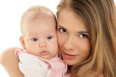 Madre con il bambino Immagine Stock Libera da Diritti