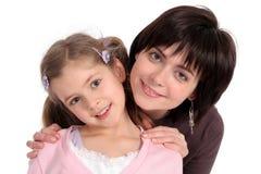 Madre con la hija Fotos de archivo