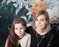Madre con la hija imágenes de archivo libres de regalías