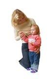 Madre con la hija Foto de archivo libre de regalías
