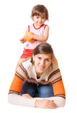 Madre con la hija Foto de archivo