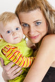 Madre con la sua neonata Fotografia Stock Libera da Diritti