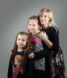 Madre con las hijas Fotografía de archivo libre de regalías