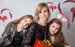 Madre con las hijas Imagen de archivo