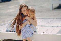 Madre con le figlie Immagine Stock Libera da Diritti