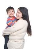 Madre con su niño Fotos de archivo