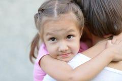 Madre con sua figlia Fotografie Stock