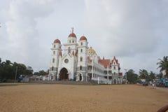 Madre de la iglesia de dios, Vettukad fotografía de archivo libre de regalías