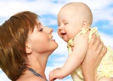 madre del bambino Immagine Stock