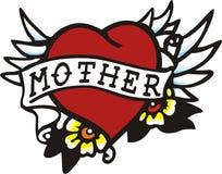 Madre del corazón stock de ilustración
