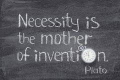 Madre dell'invenzione fotografia stock