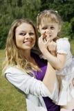 madre della figlia Fotografia Stock Libera da Diritti
