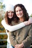 madre della figlia Fotografia Stock