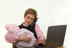 Madre di funzionamento 360 Fotografia Stock