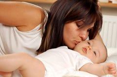 Madre e bambino #19 Fotografia Stock