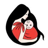 Madre e bambino royalty illustrazione gratis